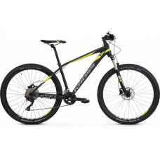 "KROSS Horský bicykel LEVEL 6.0 17"" S 2020 - žlto - čierny Preview"
