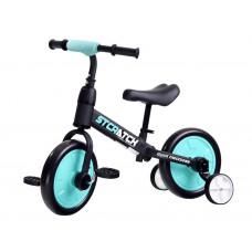 Inlea4Fun Detské cykloodrážadlo 3 v 1 Stcratck - modré Preview