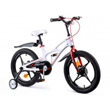 """Detský bicykel RoyalBaby Rower 18"""" Space Shuttle RB18-22 - biely Preview"""