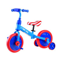 Inlea4Fun Detské cykloodrážadlo 3 v 1 Tiny Bike - America