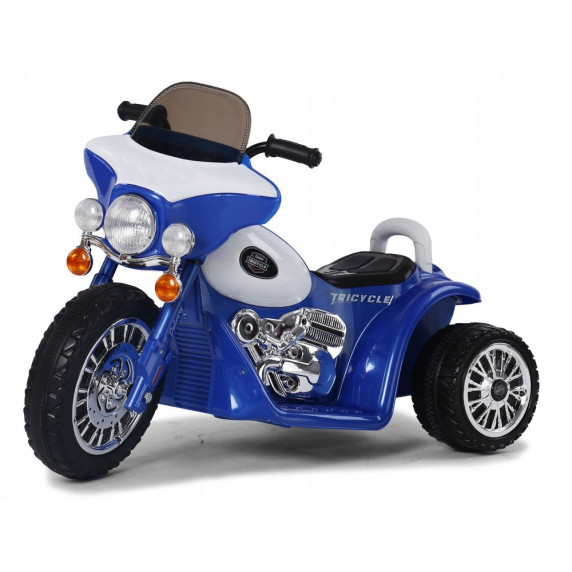Detská elektrická trojkolka Chopper PA0116 - modrá