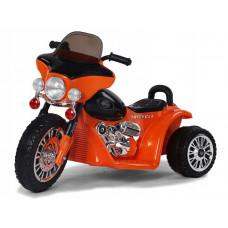 Detská elektrická trojkolka Chopper PA0116 - oranžová Preview