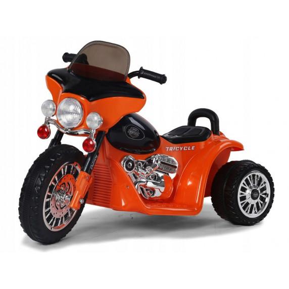 Detská elektrická trojkolka Chopper PA0116 - oranžová