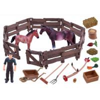 Farma - kone v ohrade Inlea4Fun