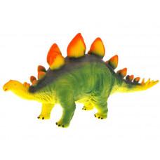 Inlea4Fun Dinosaurus figúrka - Stegosaurus s oranžovými hrotmi Preview
