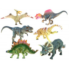 Inlea4Fun CRETACEUS Dinosaurus sada - 6 ks Preview
