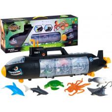 Inlea4Fun Plastová ponorka s morskými živočíchmi Preview