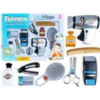 Inlea4Fun Fashion Barber Shop Detský kadernícky set