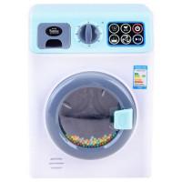 Inlea4Fun PLAY TIME Detská práčka - biela/modrá