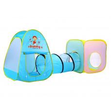 Inlea4Fun Garden house tunnel Detský hrací stan so spojovacím tunelom Preview