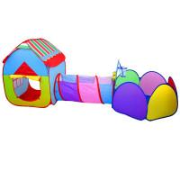 Detský hrací stan so spojovacím tunelom 3v1 Inlea4Fun PLAY TENT