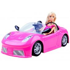 Ružové autíčko kabriolet s bábikou Inlea4Fun ANLILY Preview