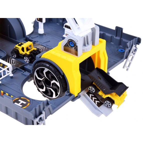 Inlea4Fun SUPER STORAGE Odťahovacie vozidlo 2v1