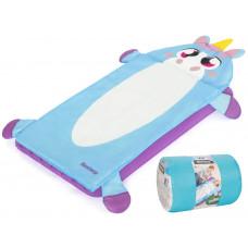 Detský nafukovací matrac + spací vak 132 x 76 cm BESTWAY Jednorožec Preview