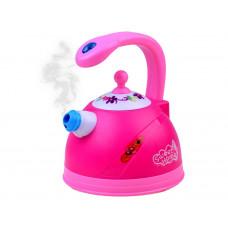 Detský čajník so svetelnými a zvukovými efektmi Inlea4Fun SWEET HOME - ružový Preview