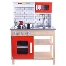 Inlea4Fun Detská drevená kuchynka TERA Preview