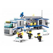 Konštrukčná kreatívna sada Policajná stanica 395 ks Inlea4Fun POLICE Preview