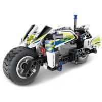 Konštrukčná kreatívna sada 193 kusov Inlea4Fun MECHANICAL MASTER POLICE