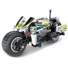 Konštrukčná kreatívna sada 193 kusov Inlea4Fun MECHANICAL MASTER POLICE Preview
