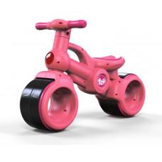 Inlea4Fun Detské odrážadlo motorka BABY RIDE ON RO0063 - ružové Preview