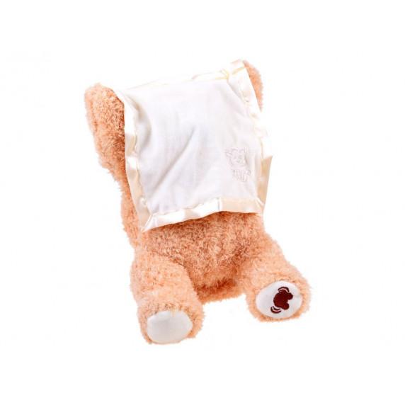 Inlea4Fun PEEK a BOO Interaktívny plyšový medvedík