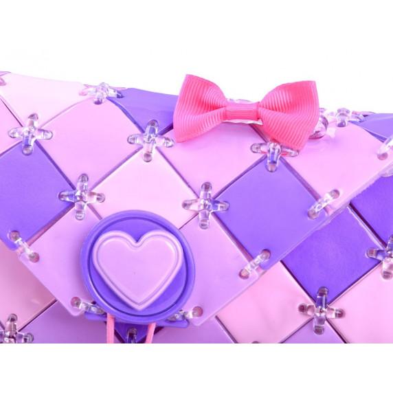 Urob si sama! Kreatívna dievčenská kabelka Inlea4Fun FASHION BAG