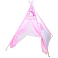 Detský stan Inlea4Fun TENT HOUSE - jednorožec ružový