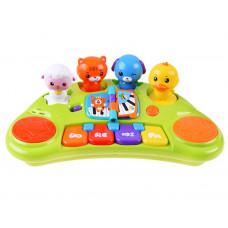 Detský interaktívny klavír Zvieratká HOLA Preview