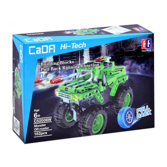 Inlea4Fun Konštrukčná kreatívna sada CaDFI Hi-Tech Monster 182 kusov