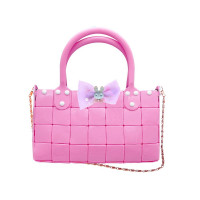 Urob si sama! Kreatívna dievčenská kabelka Inlea4Fun YOUR STYLE - ružová