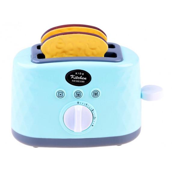 Inlea4Fun BREAD MACHINE Detský hriankovač - modrý