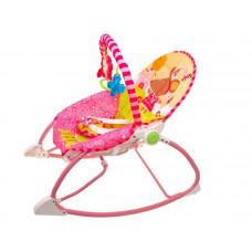 Detské lehátko s vibráciami Inlea4Fun TODDLER ROCKER - ružové Preview