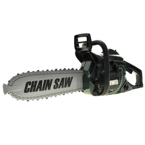 Detská motorová píla Inlea4Fun CHAIN SAW - zelená
