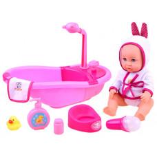 Inlea4Fun BATHTIME Kúpeľňa s bábikou Preview