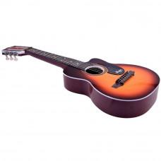 Detská gitara Inlea4Fun MUSIC - imitácia dreva Preview