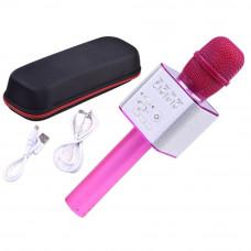 Inlea4Fun Bezdrôtový karaoke mikrofón - ružový Preview