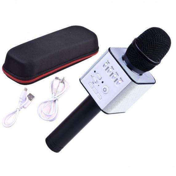 Bezdrôtový karaoke mikrofón Inlea4Fun INOX - čierny