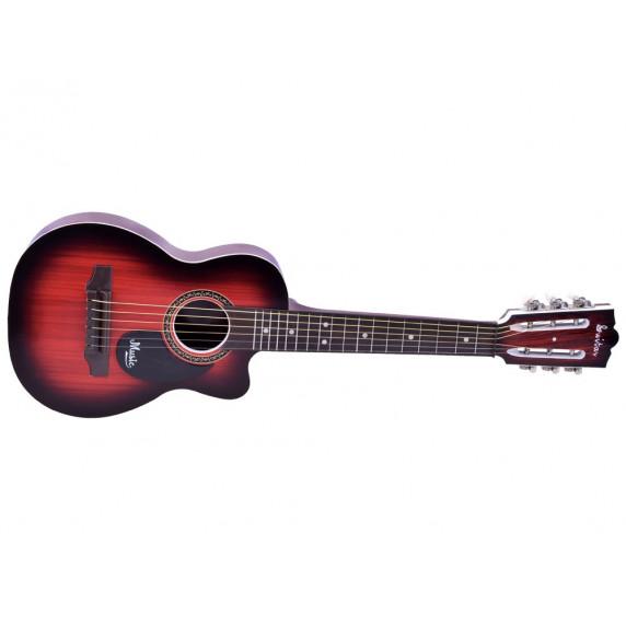 Detská gitara Inlea4Fun MUSIC - imitácia dreva