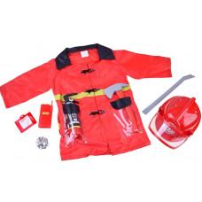 Inlea4Fun Detský kostým Hasič Preview