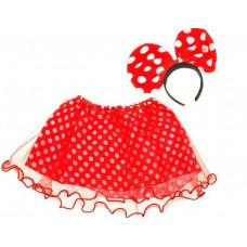 Inlea4Fun Detský kostým Minnie Mouse Preview