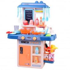 Inlea4Fun IGA Detská kuchynka so svetelnými a zvukovými efektmi so 40 doplnkami - modrá Preview