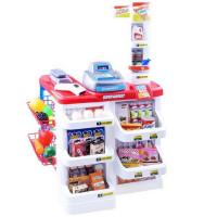 Inlea4Fun Stragan Detský supermarket so 65 doplnkami