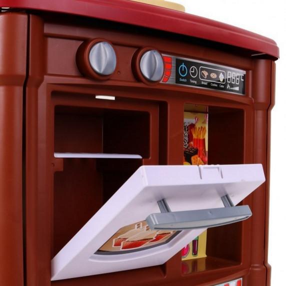Veľká detská kuchynka Super Šéf s tečúcou vodou Inlea4Fun + príslušenstvo