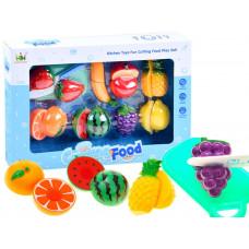 Inlea4Fun Detská krájacia sada ovocia CUTTING FOOD  Preview
