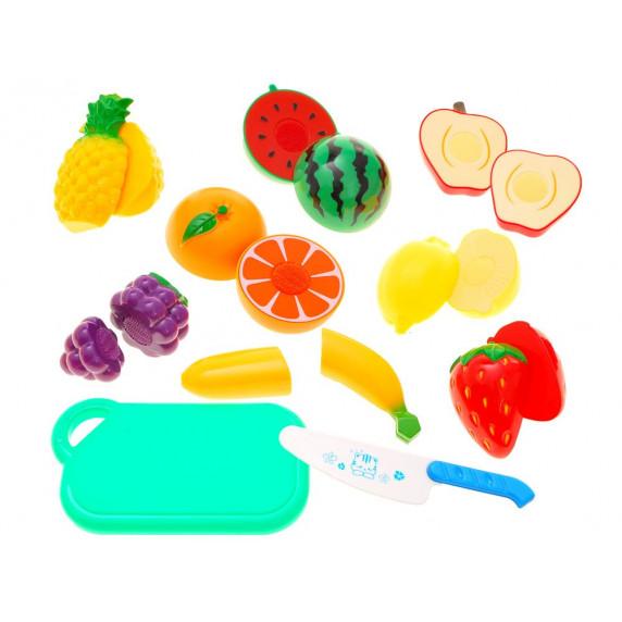Inlea4Fun Detská krájacia sada ovocia CUTTING FOOD