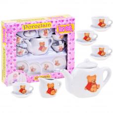 Detská čajová súprava TEA SET s 10 doplnkami Inlea4Fun - biela Preview