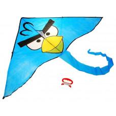 Lietajúci drak Inlea4Fun ANGRY BIRDS - modrý Preview