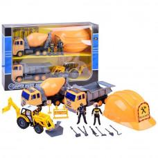 Inlea4Fun set stavebných vozidiel BUILDER Preview
