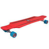Longboard HUDORA CruiseStar - červený