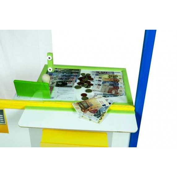 Aga4Kids Detská tabuľa BANKA B1 110 cm
